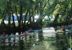 Piragüismo río Arnoia